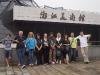 Il gruppo davanti al museo