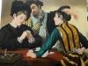 I Bari - Caravaggio - olio su tela - 100x80