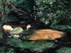 L'Ofelia - Millais - olio su carta telata - 30x40