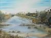 I canali di Marina Romea (olio su tela) 40x60