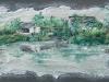 Villaggio il terra bagnata - 30x50